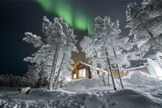 Lapponia finlandese  - Cacciatori di aurore boreali